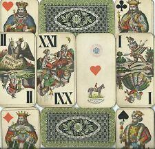 altes Kartenspiel Tarock von Fa. Piatnik- Wien ca. 1915 (datiert)