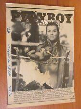 Vtg AP Wire Press Photo Actress Bo Derek on Cover of Playboy The Parody 11/29/83