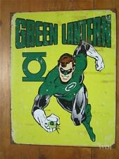 Green Lantern DC Universe Comic Book Super Heroes Power Ring Metal Sign Poster