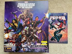 Marvel Legends Guardians of the Galaxy Entertainment Earth Box Set - BOX ONLY