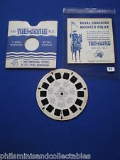 VIEW-MASTER - Royal Canadian Mounted Police, Canada   1956