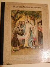 Walk Before Me and Be Thou Perfect, Rare, Published by Ernst Kaufmann New York