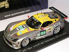 Dodge Viper #93 SRT Wittmer Kendall 31st Le Mans 2013 - Spark 1/43 (S3771)