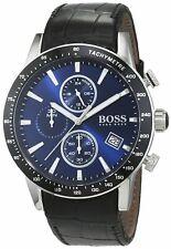 GENUINE HUGO BOSS HB1513391 Rafale Blue Dial Men's Chronograph Watch ~RRP£350~