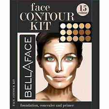 15 Shades Colour Concealer Contour Makeup Palette Kit Make Up Set, Palette #1 UK