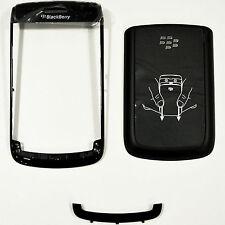 Blackberry 9780 Batteria Porta Posteriore Copertura & Bottom Front TASTIERA Pannello & Telaio