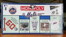 New York Mets Collector's Edition Monopoly Board Game with Limited Edition Card