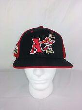 New Era All Star 2003 Atlanta Hawks 59fifty Fitted Cap 8 NBA Red Black Wool Cott