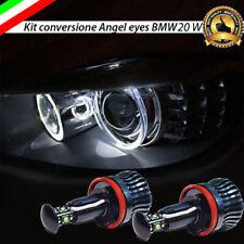 COPPIA LAMPADE H8 LED POSIZIONE 6000K 20W FARI ANGEL EYES XENON BMW X5 E70