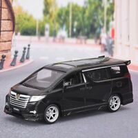 1:32 Toyota Alphard Alloy Pull Back Model Night Light View Collectible Die Cast