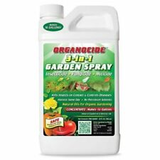 Organocide 3-in-1 Garden Spray Quart Concentrate 32 oz Insecticide Omri Organic