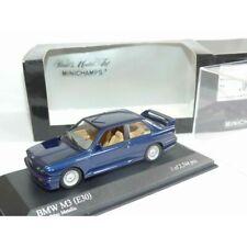 Bmw M3 E30 Bleu Minichamps 1 43