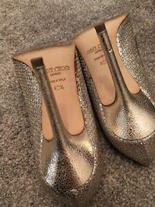 Jimmy Choo Heels 40.5 Silver