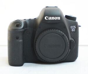 Mint Canon EOS 6D 20.2MP Digital SLR Camera - Black