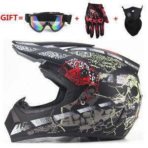 Motorcycle Helmet motocross Off Road Helmet ATV Dirt bike Downhill racing helmet