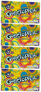 4x Formally Wonka Everlasting Gobstopper Large Box 141.7g American Retro Sweets