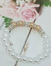 Beaded Bracelets For Women,Imitation Pearl Bracelet, Anniversary Bracelet