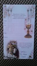 14 first communion invitation/invitaciones para primera comunión ,