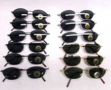 Classic beach shades Style Small Petite Wire Metal Frame Sunglasses by dozen
