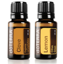 doTerra Clove Lemon 15ml duo Therapeutic Grade Pure Essential Oil Aromatherapy