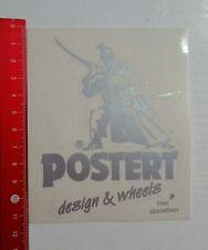 Aufkleber/Sticker: Postert design & wheels (131016149)