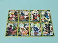 Lego Ninjago Serie 5 Trading Card  8 x Limitierte Auflage LE5-LE8 LE24-LE27