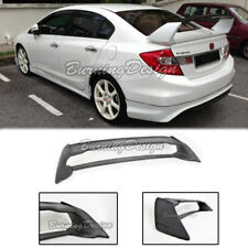 Rear Trunk Wing Spoiler For 06-11 Honda Civic Sedan FD2 FA2 Mugen RR ABS Plastic
