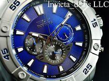Invicta Men's Pro Diver Ocean Cruiser Swiss ISA Multifunction BLUE Dial SS Watch