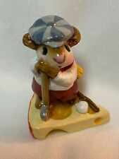 Wee Forest Folk Retired Golfer Mouse