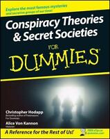 Conspiracy Theories and Secret Societies for Dummies Christopher Hodapp