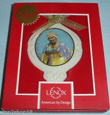 Thomas Blackshear Ebony Visions Ornament Wise Man with Frankincense by Lenox New