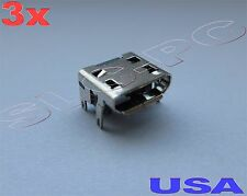 3x Micro USB Charging Charger Port OEM Replacement for JBL Bluetooth Speaker