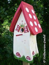 ORIGINAL die VOGELVILLA Vogelhaus NISTKASTEN WALDHAUS Nisthöhle Gartendekoration