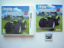 Farming Simulator 2012 3D Jeu Vidéo Nintendo 3DS