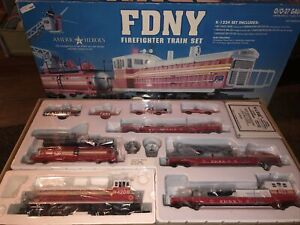 K-Line MTH Lionel New York City FDNY Firefighter Train Set