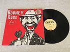 RODNEY RUDE LIVE RARE QUEEN ERROR PROMO LABEL NM 1984 AUSTRALIAN RELEASE LP