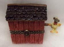 Boyds Treasure Box Lilian'S Lovenest W/ Finch Mcnibble