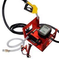 SELF PRIMING DIESEL TRANSFER PUMP 12V 150W 40 L/MIN AUTOMATIC PISTOL PORTABLE