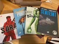 TKO graphic novel/TPB set of 8 - Garth Ennis - Jeff Lemire