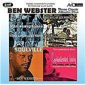 Three Classic Albums Plus [Blue Saxophones / Soulville / The Soul Of Ben Webster