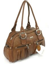 New Lorenz Large Womens Cowhide Real Leather Weekend Tote Purse Shoulder Handbag