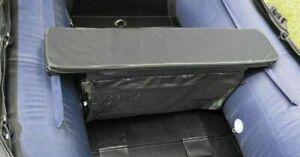Schlauchboot Sitzauflage Polster mit Tasche  schwarz grau  85,  91, 95cm x 20 cm
