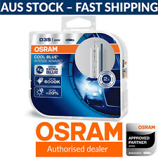 OSRAM Xenarc Cool Blue Intense 6000K Styling D3S Xenon HID Globes (Twin Pack)