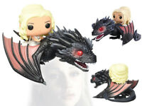 Funko POP Rides Game of Thrones Daenerys Targaryen & Drogon 15 Figurine Statue