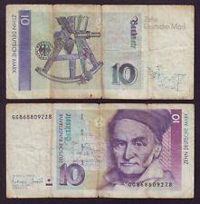 Germany 1993 Deutsche 10 Mark GG 8688092z8 (Хас3ю01)