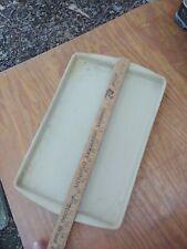 "New listing Pampered Chef Stoneware Large Bar Pan 17"" X 11"" Baking Cookie Sheet Tray Usa"