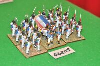 25mm napoleonic / french - regt 24 figs - inf (44805)