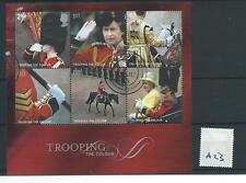 WBC. - GB miniatura foglio-A23 - 2005-TROOPING il COLORE-BELLE USATO
