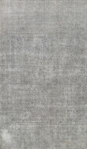 Antique Overdyed Traditional Area Rug Distressed Wool Hand-knotted Oriental 8x11