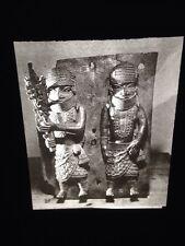 Benin- Bronze Relief Plaque- African Nigerian Tribal Art 35mm Slide